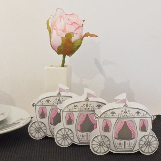 Fairytale Princess carriage gift boxes
