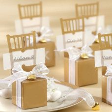 Miniature chair favour boxes place card holders Gold - http://brownsweddingfavours.co.uk/shop/category_Miniature%2520Chair%2520Favour%2520Boxes/Miniature-Chair-Favour-Boxes_Place-Card-Holders.html?shop_param=cid%3D%26