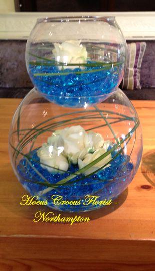 Double bubble bowl tablecentre
