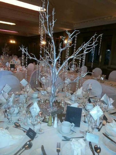 Silver Crystal trees