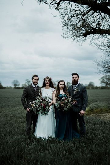 Stylish Autumnal Wedding
