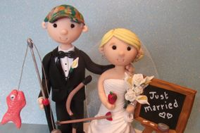 Tinylove Wedding Cake Toppers