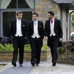 Wedding suits from our Menswear Range