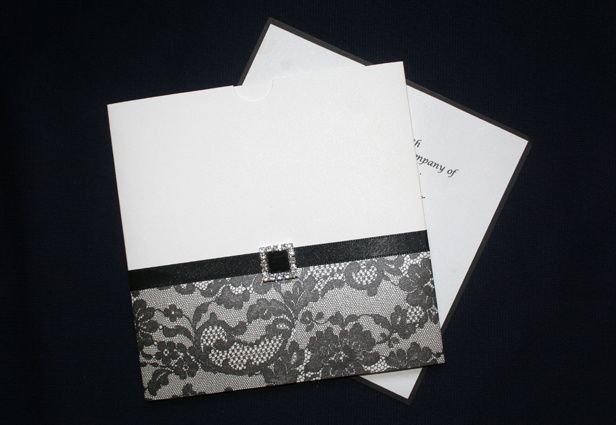 Ebony invitation kits