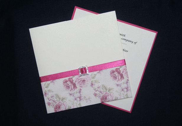Rose invitation kits