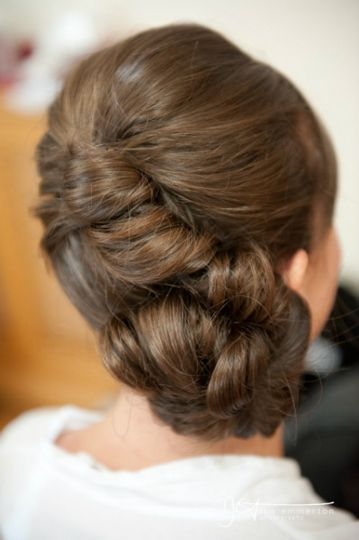 Stacey - Unique wedding hair