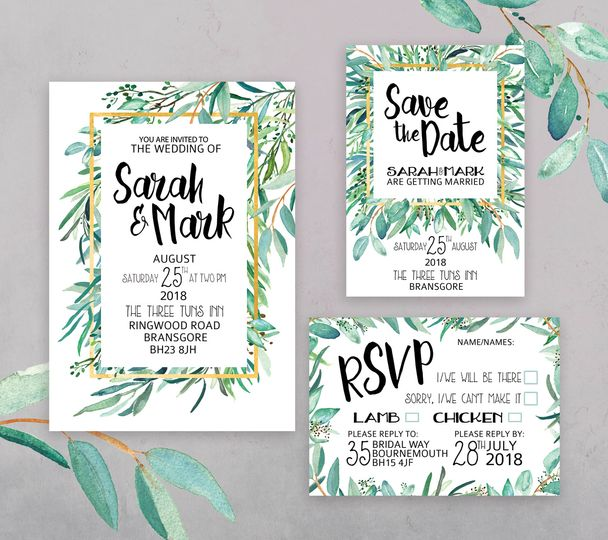 Botanical Luxe Stationery Set