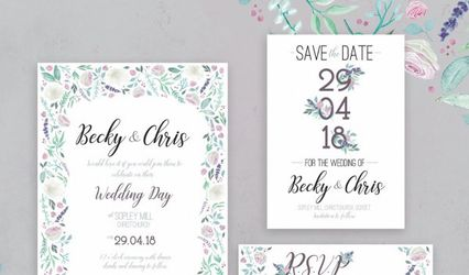 Benny And The Bird Wedding Stationery