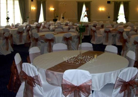 Venue chair covers