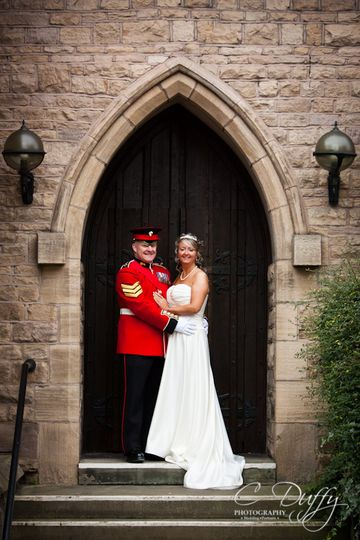 Cloisters Suite Wedding Photo