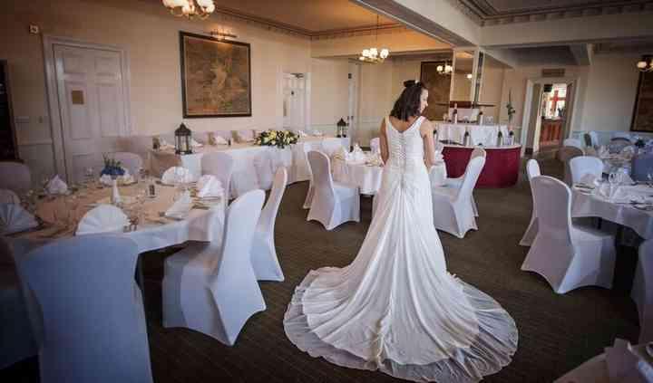 Bride in the Restaurant