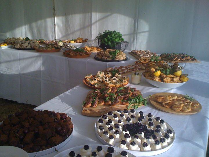 A sumptuous buffet