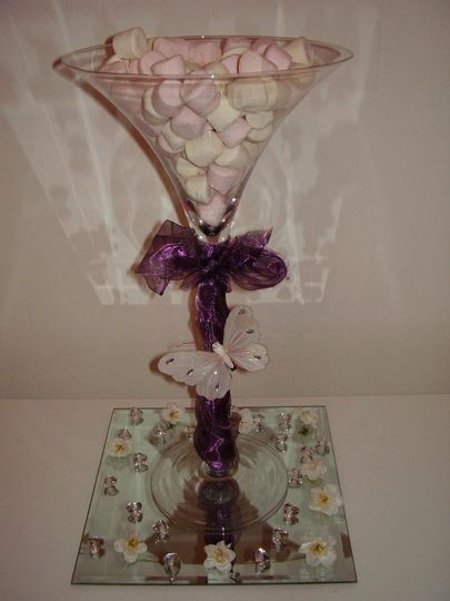 Sweetie table centrepiece