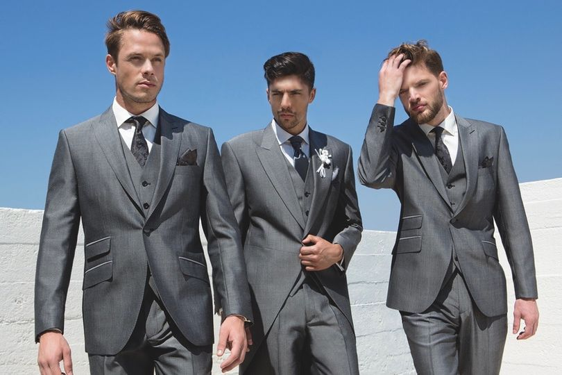 Silver Grey Suit & Tails