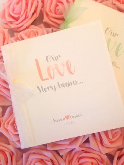 Love story Wedding invites
