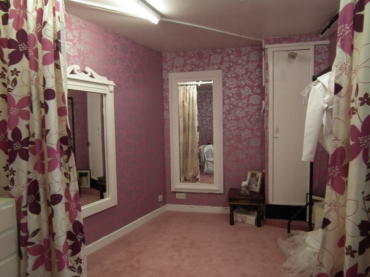 Luxurious fitting area