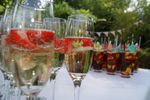 Champagne and Pimms