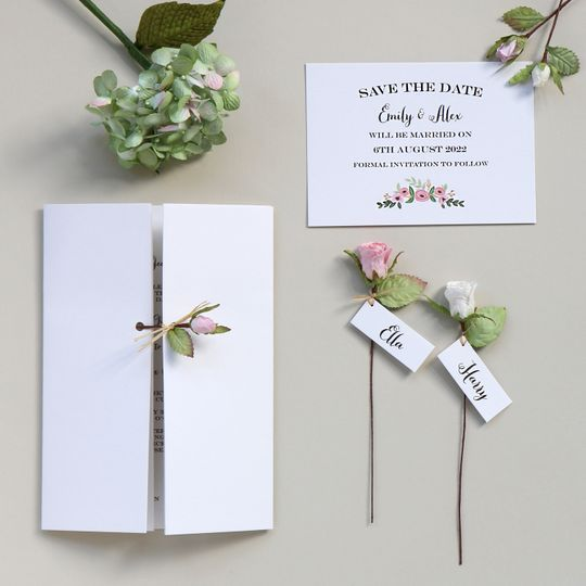 Paper Rose Stationery
