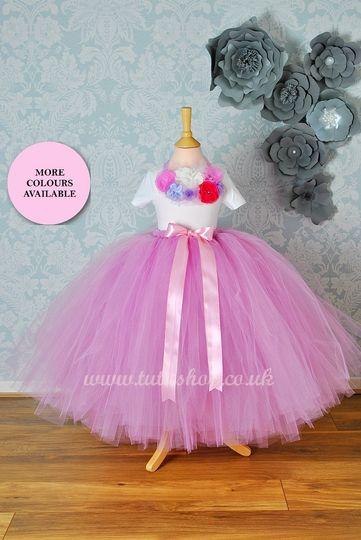 Flower Girl Tutu Skirt