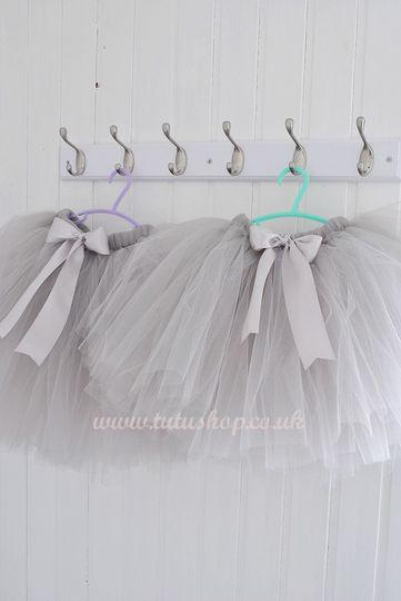 Silver Grey Girls Tutu