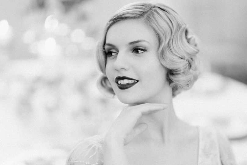 Lipstick and Curls Bridal hair