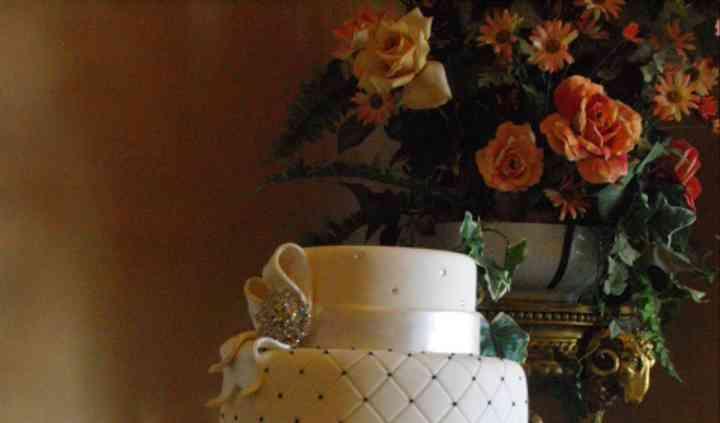 Diamante Wedding Cake