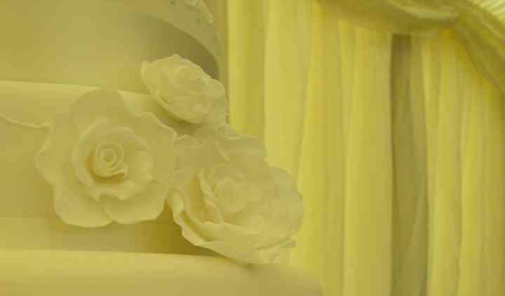 Cornflower Wedding Cake