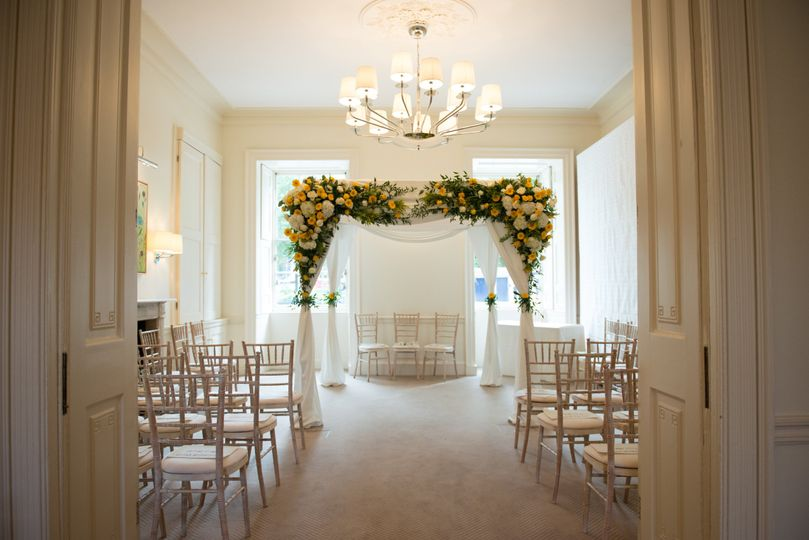 Garden Room - Ceremony