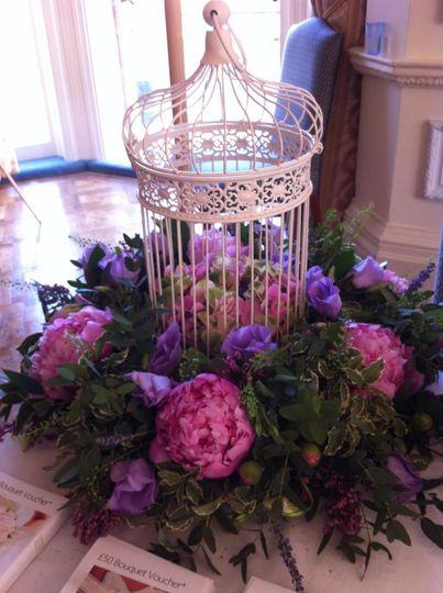 Birdcage flowers