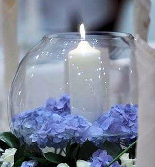 Blue Hydrangea Fishbowl