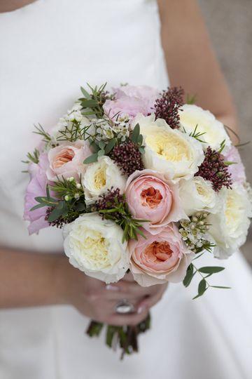 Mixed Garden Rose Bouquet