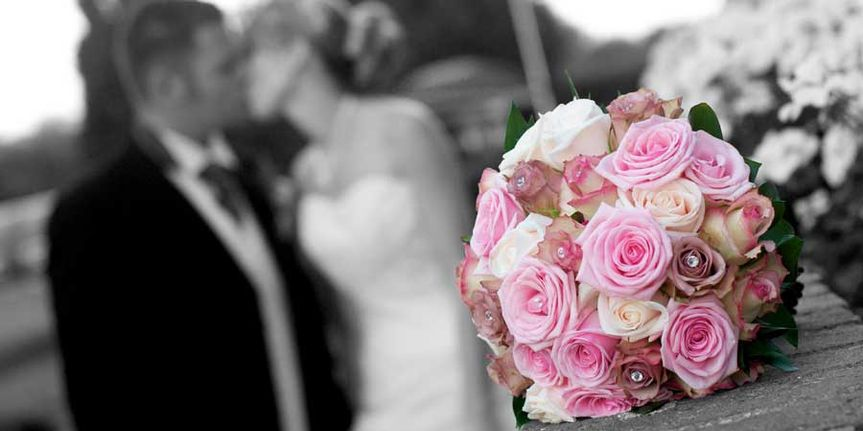 Pinks in the bouquet