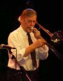 Jazz trombonist Laurie C.