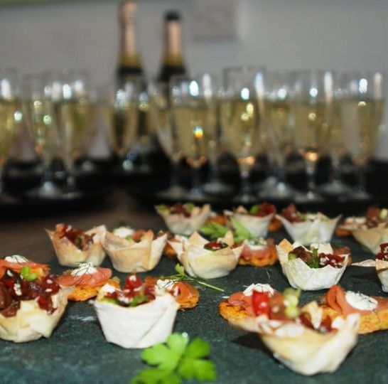 The Lakes Catering canapes