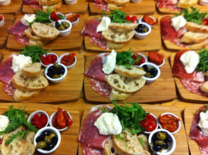 Italian anti pasti platter