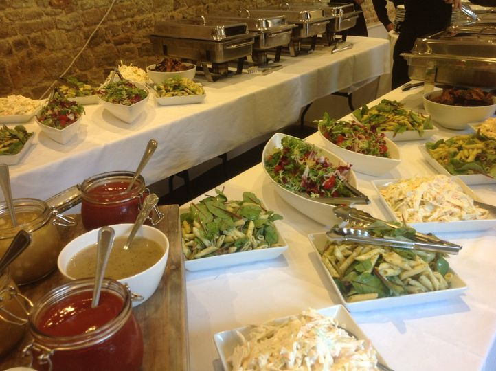 Salads for bbq buffet