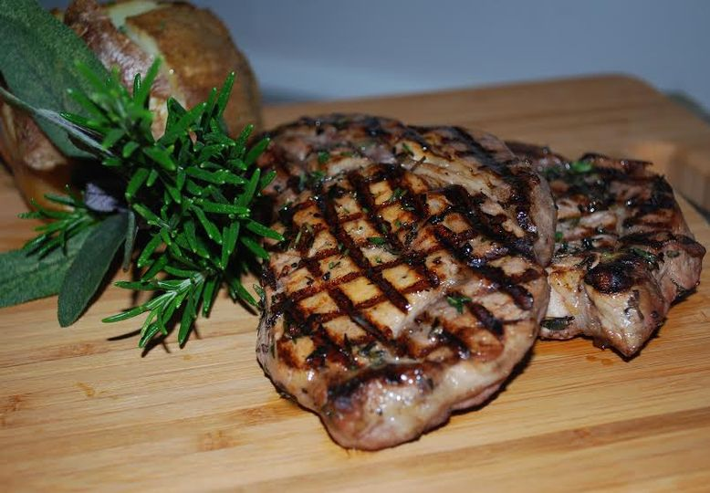 Chargrilled sirloin steak