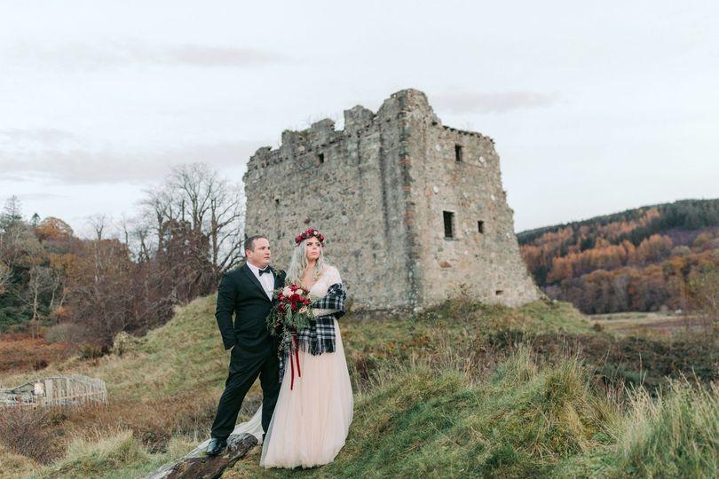 Scottish castle weddings