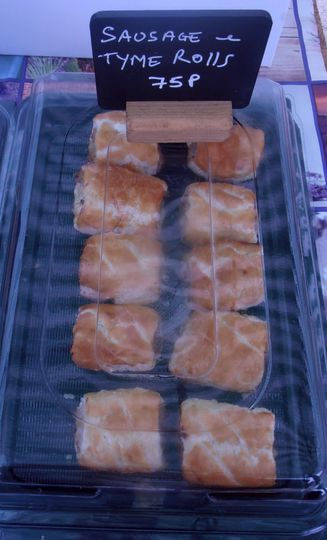 Our sausage rolls Letchworth