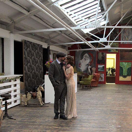 Industrial London Wedding