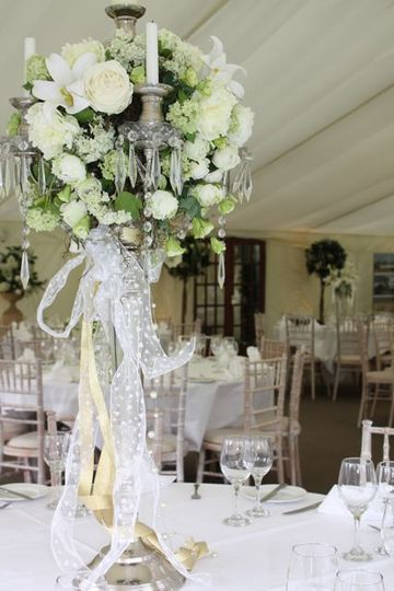Candelabras complete with all flowers