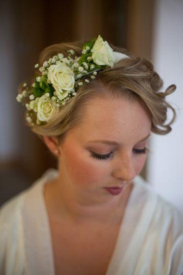 Natural bridal makeup & hairst