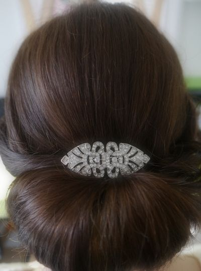 Hair with Vintage Comb