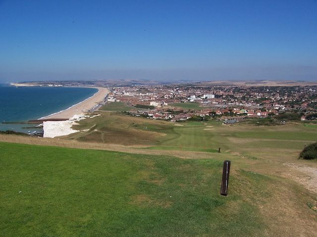 View over Seaford Bay