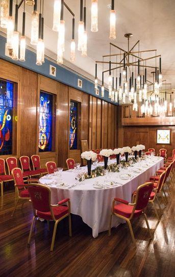 Beautiful room for weddings