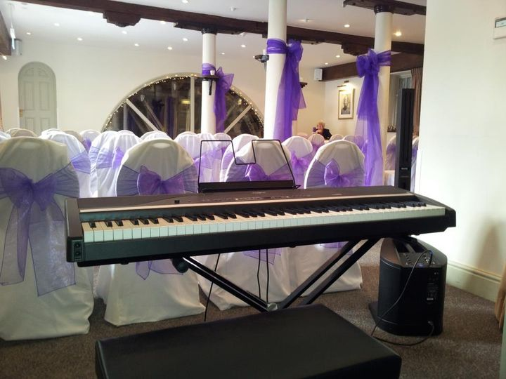 Pianist at Quy Mill