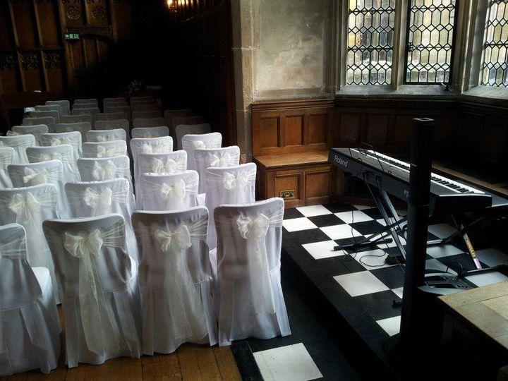 Wedding ceremony pianist