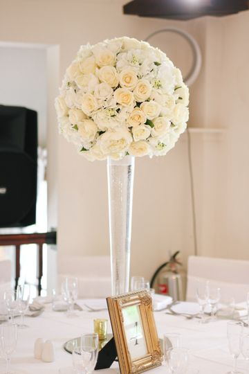 Large rose ball arrangment