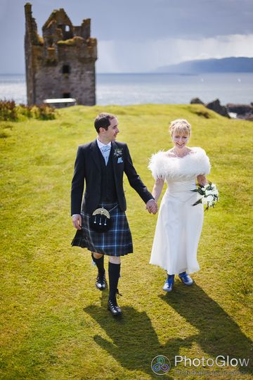 Isle of Kerrera wedding