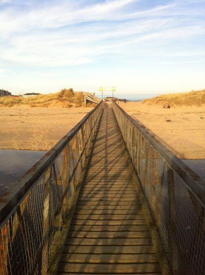 East Beach bridge